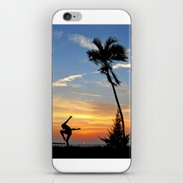 Florida Keys Sunset Dancing iPhone Skin