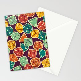 Dice Addict Stationery Cards