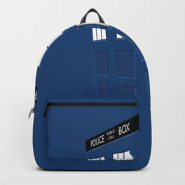 Tardis Blue Backpack
