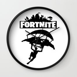 Fortnite Battle Royale Wall Clock