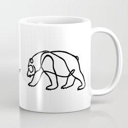 Bull vs Bear Coffee Mug