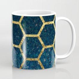Glittery Hex Coffee Mug