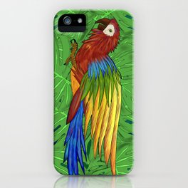 Parrot Flying iPhone Case