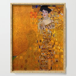 THE LADY IN GOLD BLOCH BAUER - GUSTAV KLIMT Serving Tray