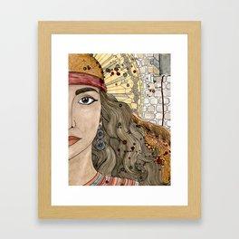 Rahab Framed Art Print