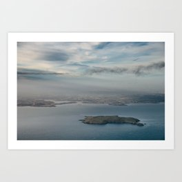 Lambay Island Art Print