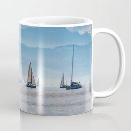 Sailboats (Lake Constance, Germany) Coffee Mug