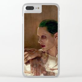 Gangster (suicide squad) Clear iPhone Case