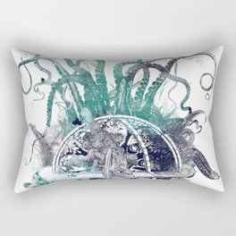strange artefact amusement park Rectangular Pillow