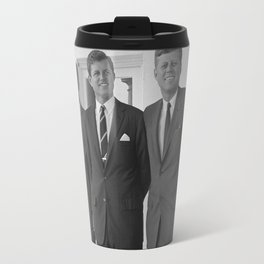 The Kennedy Brothers -- John, Robert, And Ted Travel Mug