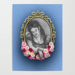 The Flowered Locket Poster