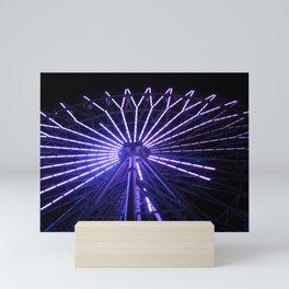 Electric Purple Sapporo Mini Art Print