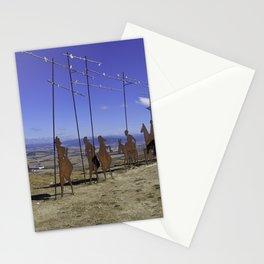 Alto de Perdon, Pilgrim Statue Stationery Cards