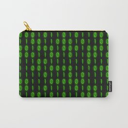 Binary Code Inside Carry-All Pouch