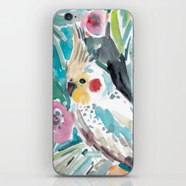 Parasol the Cockatiel iPhone Skin