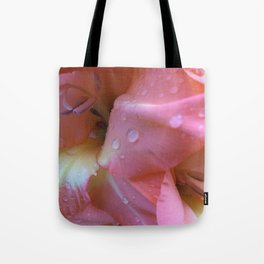 Dew Dropped Glads Tote Bag