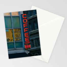 Caffeine Stationery Cards
