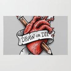 Draw or Die Rug