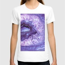 Purple Lavender Quartz Crystal T-shirt
