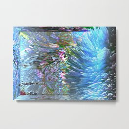 mirror explotion Metal Print