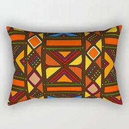 African Style No6, Sahara Desert Rectangular Pillow