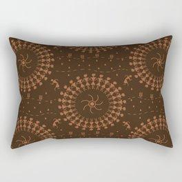 Warli Design Rectangular Pillow