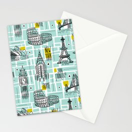 Globetrotter Stationery Cards