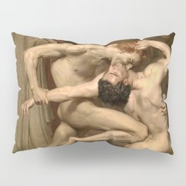 Dante and Virgil in Hell Pillow Sham