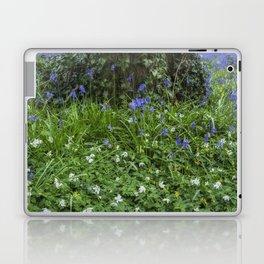 Wild Flower Wood Laptop & iPad Skin