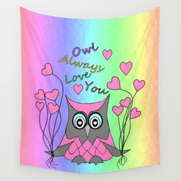 Love You Always Wall Tapestry