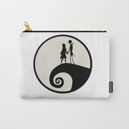 Jack & Sally Silhouette Carry-All Pouch
