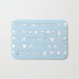 Hanging in the Wind Bath Mat