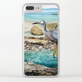 Lunch at the Beach Clear iPhone Case