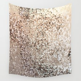 Sparkling GOLD Lady Glitter #1 #decor #art #society6 Wall Tapestry