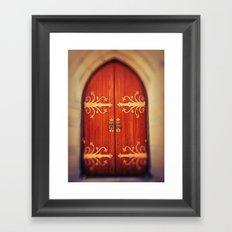 Heavenly Door Framed Art Print