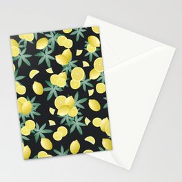 Lemon Twist Vibes #5 #tropical #fruit #decor #art #society6 Stationery Cards