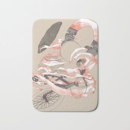 driving with music Bath Mat