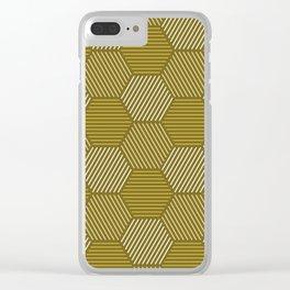 Op Art 78 Clear iPhone Case