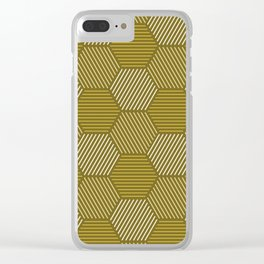 Op Art 78 Clear iPhone Case