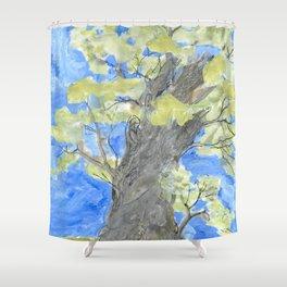 Storybook Tree Shower Curtain