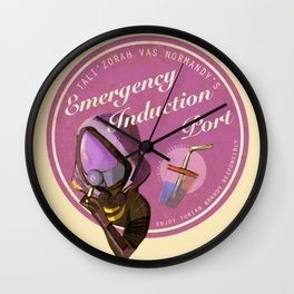 """how are you getting drunk?"" ""very carefully."" Wall Clock"