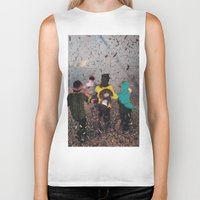 butterfly Biker Tanks featuring Butterfly by Lerson
