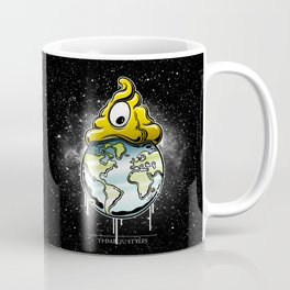 shit rules the world Coffee Mug