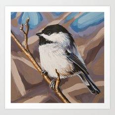 Chickadee 4 Art Print
