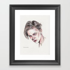 River P Framed Art Print