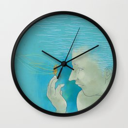 Lend Me Your Mind Wall Clock