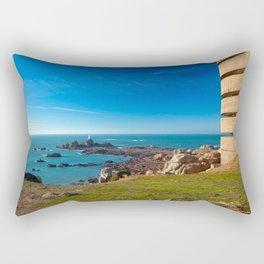 Jersey Coastal Scenery Rectangular Pillow