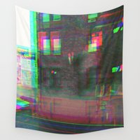 urban Wall Tapestries featuring Urban by Jane Lacey Smith