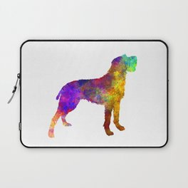 Bohemian Wirehaired Pointing Griffon in watercolor Laptop Sleeve