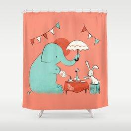 Tea Party Shower Curtain